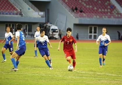 AFF Cup: Tuyển nữ Việt Nam giữ ngôi đầu bảng
