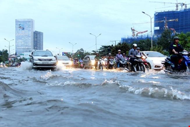 TP.HCM vào đợt triều lớn trong năm