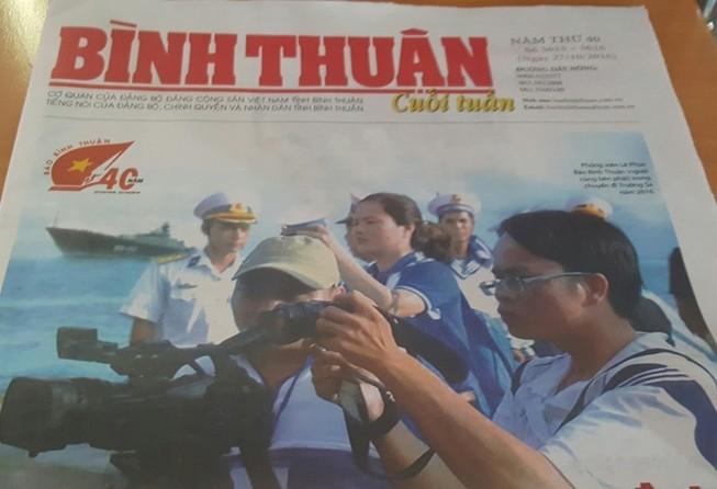 Báo Bình Thuận kỷ niệm 40 năm ngày thành lập
