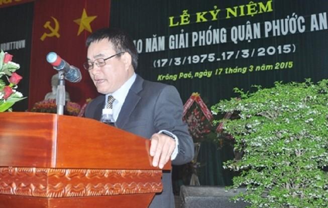 Phó trưởng Ban Nội chính Tỉnh ủy Đắk Lắk bị kỷ luật