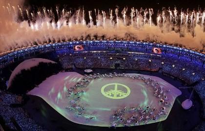 Chùm ảnh: Lễ khai mạc Olympic Rio diễn ra hoành tráng