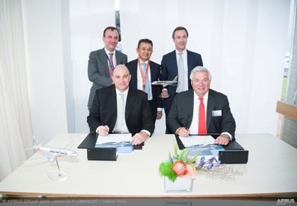 Jetstar mua 10 máy bay của Tập đoàn Airbus