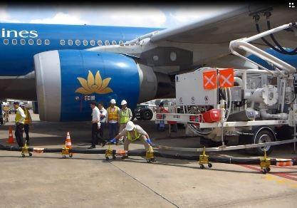 Tân Sơn Nhất khai thác hệ thống nạp nhiên liệu ngầm cho tàu bay