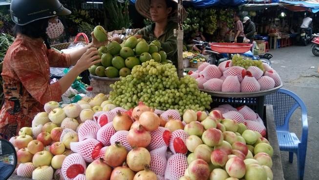 Mỗi tháng người Việt chi 80 triệu USD nhập rau quả
