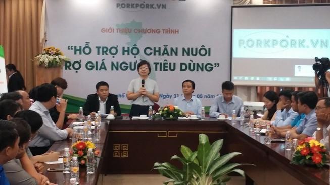 Porkpork.vn muốn bán 50.000 tấn heo sạch giá rẻ