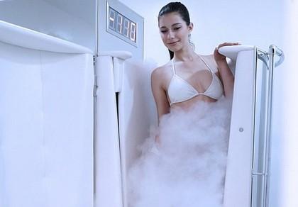 Tắm lạnh nitơ, chưa rõ hiệu quả đã lo ngạt thở