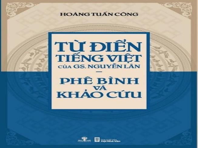 Sách bắt lỗi từ điển GS Nguyễn Lân nhận giải Sách hay