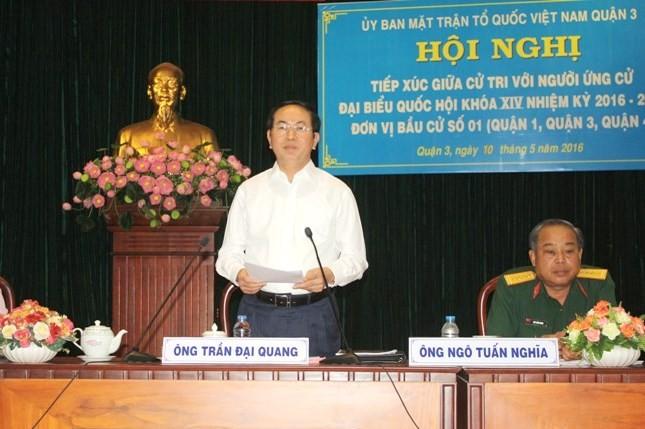 Chủ tịch nước Trần Đại Quang: Không dễ lôi những kẻ tham nhũng ra ánh sáng