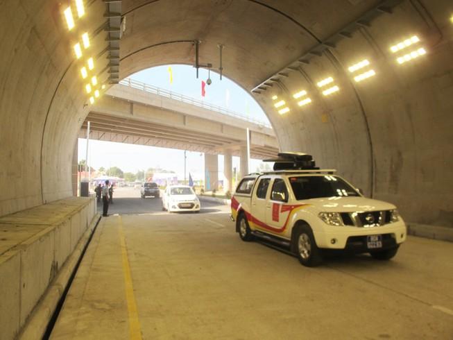 Thông xe hầm đường bộ đèo Cổ Mã