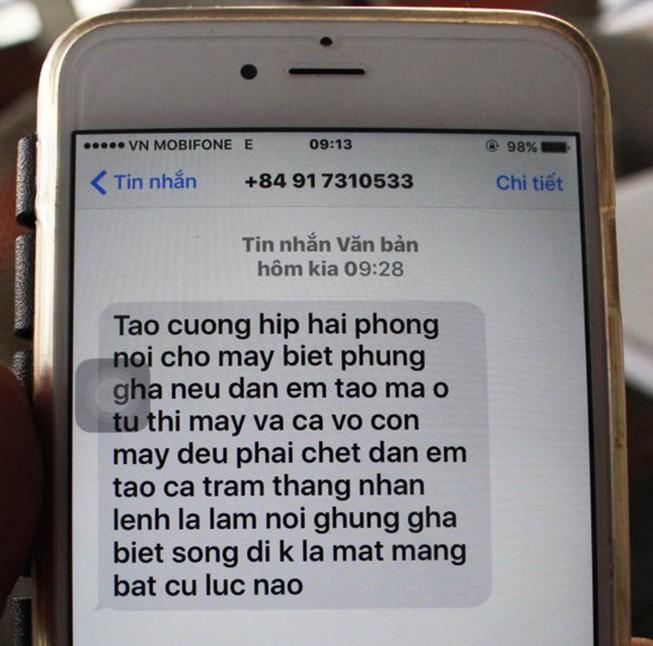 Chủ nhà hàng bị truy sát liên tục nhận tin nhắn dọa giết