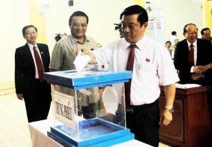 Nhiều lãnh đạo tỉnh Bình Định tái đắc cử