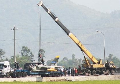 Sáng mai, bắt đầu lễ viếng học viên phi công hy sinh do máy bay rơi