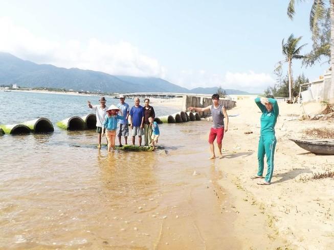 Cửa sông sạt lở, Phú Yên ban bố tình trạng khẩn cấp
