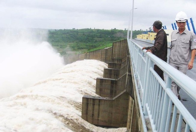 Thủy điện Sông Ba Hạ xả lũ lớn nhất trong 7 năm qua