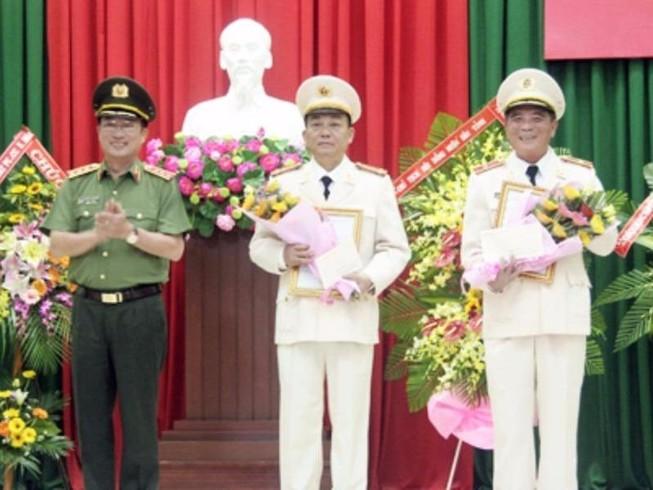 Công an tỉnh Khánh Hòa có giám đốc mới