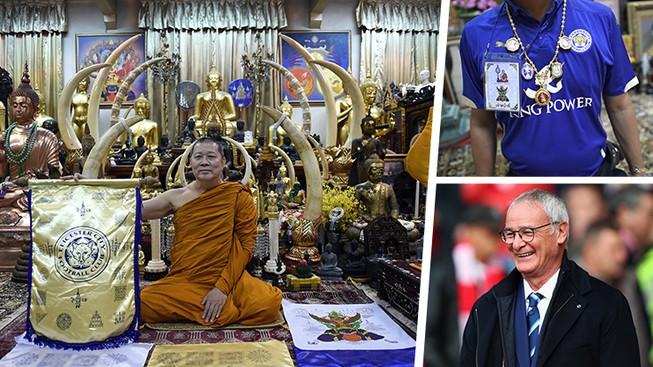 Nhà sư Thái Lan khẳng định Leicester sẽ vô địch