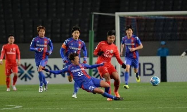 AFC Champions League: Jiangsu, B.Bình Dương chia tay giải
