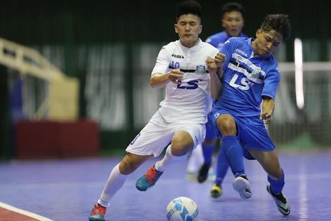Vòng 8 giải vô địch Futsal: Thái Sơn Nam duy trì ngôi đầu
