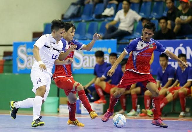 Vòng 9 giải vô địch Futsal: Thái Sơn Nam thẳng tiến