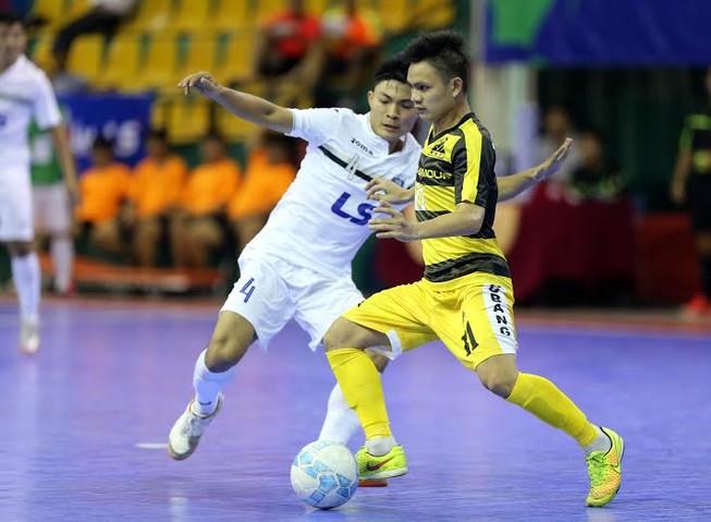 Vòng 11 giải Futsal VĐQG 2016: Thái Sơn nam bứt phá