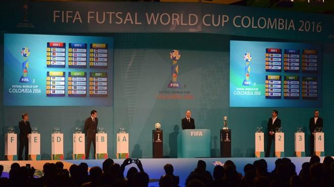 Kết qủa bốc thăm Futsal World Cup 2016: Biển lớn thì sóng lớn
