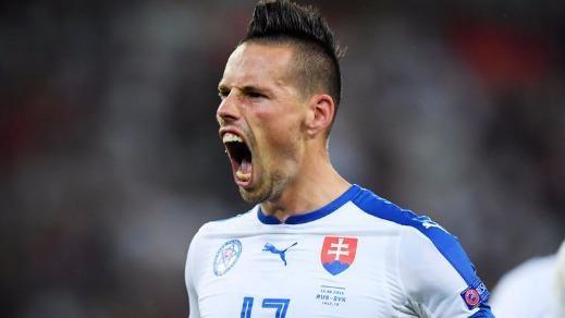Trước trận Slovakia - Anh: Coi chừng 'sói ca' Marek Hamsik