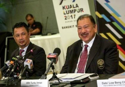 SEA Games và Para Games 2017 không tổ chức cùng lúc