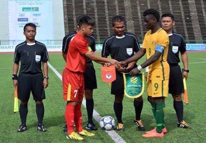 Giải U-16 Đông Nam Á: Việt Nam tái đấu Úc ở chung kết