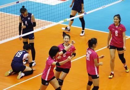 Giải vô địch bóng chuyền nữ U-19 châu Á: Việt Nam tạo lịch sử