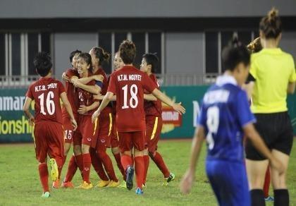 Giải bóng đá nữ Đông Nam Á: Việt Nam gặp Myanmar tại bán kết