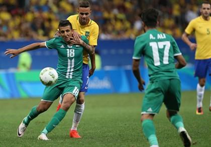 Bóng đá nam Olympic 2016: Neymar gây thất vọng, Brazil lại hòa