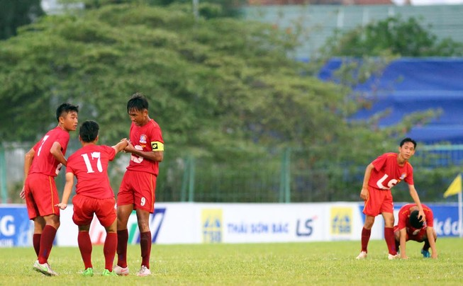 VCK U-15 Quốc gia: TP.HCM thua trận thứ 2