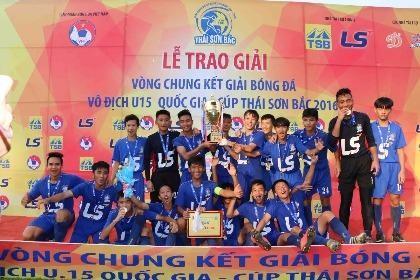 Cúp Thái Sơn Bắc 2016 tìm được nhà vô địch mới
