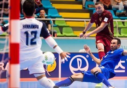 Vòng chung kết World Cup Futsal: Thái Lan thất bại trước Nga
