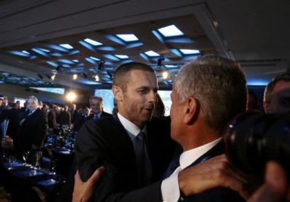 UEFA đã có chủ tịch mới thay Platini