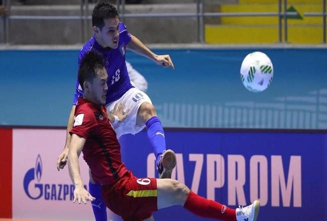 Futsal World Cup: Việt Nam vào vòng 16 đội
