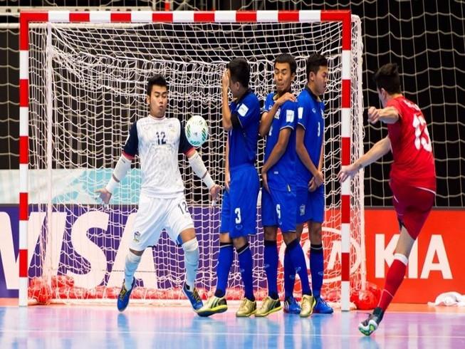 Futsal World Cup: Thái Lan nói lời chia tay