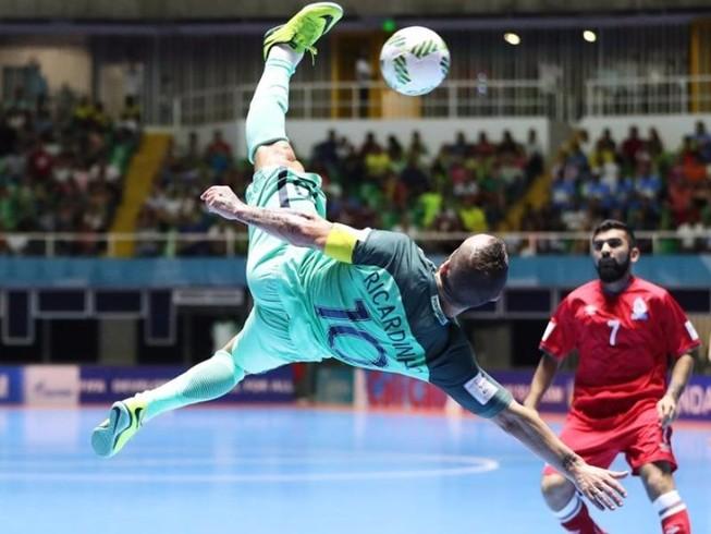 Futsal World Cup: Bồ Đào Nha, Argentina vào bán kết
