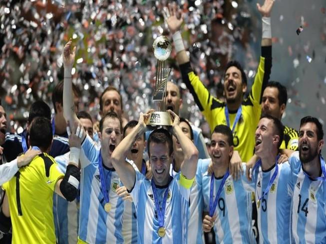 Argentina vô địch Futsal World Cup