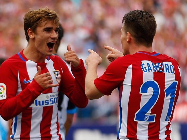 CLB Atletico… bị 'gió' đưa lên đỉnh La Liga