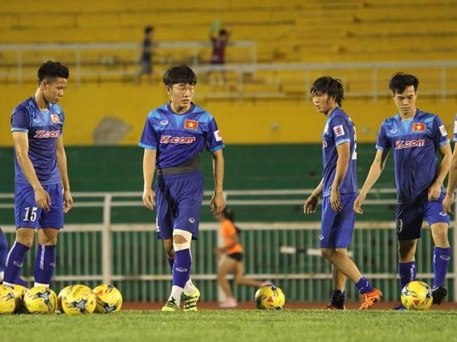 Đội tuyển tổng duyệt trước trận gặp CHDCND Triều Tiên