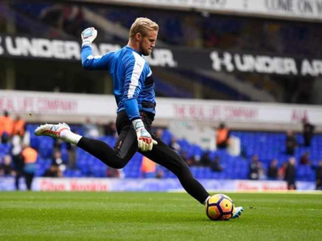 Leicester City - FC Copenhagen: Schmeichel về quê!