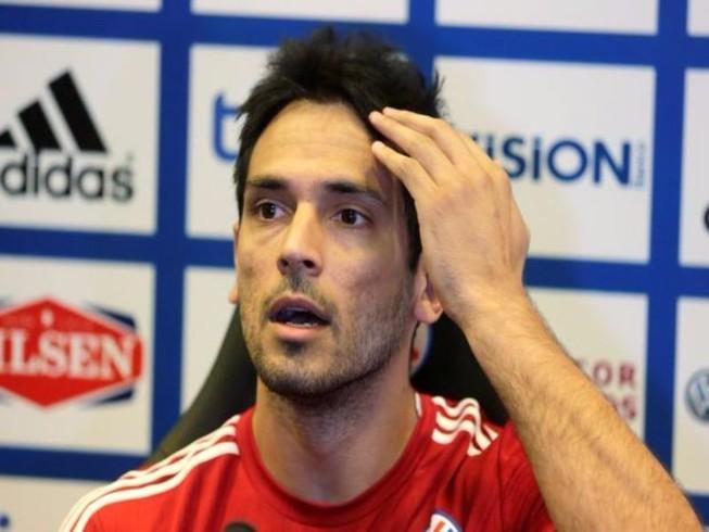 Santa Cruz chia tay tuyển Paraguay