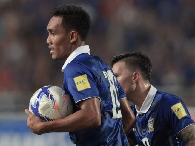 Vòng loại World Cup: Thái Lan có điểm
