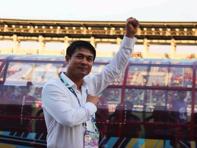 HLV Nguyễn Hữu Thắng: Thần may mắn đã đứng về chúng tôi