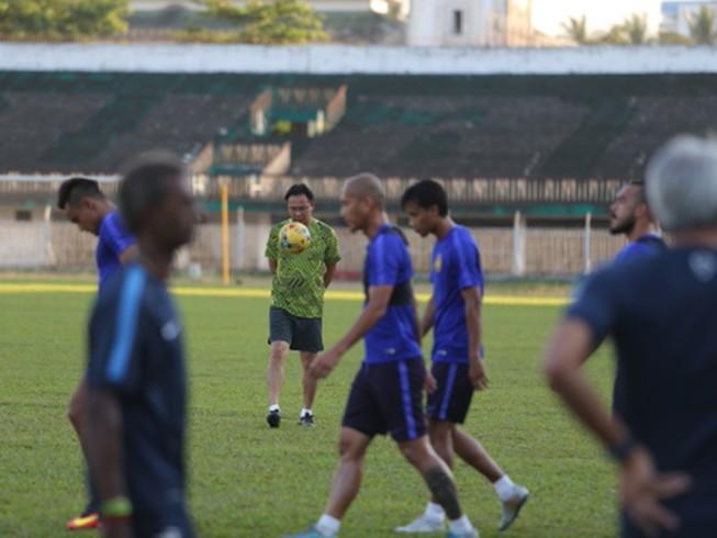 An ninh trước trận Myanmar - Malaysia được thắt chặt