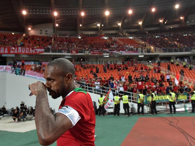 Đội trưởng Boaz Salossa là cầu thủ hay nhất Indonesia