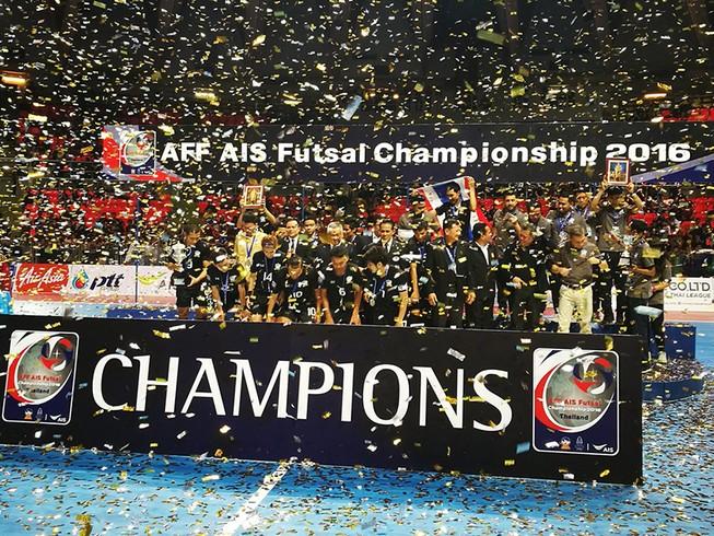 Thái Lan vô địch giải Futsal Đông Nam Á