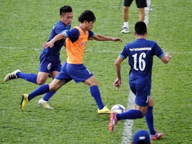 Lộ diện đội hình chính của U-22 Việt Nam