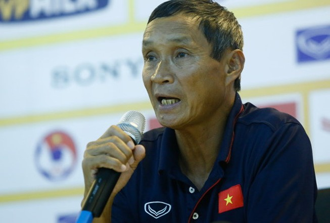 HLV Mai Đức Chung nói gì sau trận thắng nhọc Campuchia?